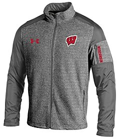 Under Armour® NCAA® Wisconsin Badgers Men's Survivor Fleece Jacket