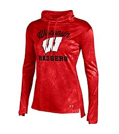 Under Armour® NCAA® Wisconsin Badgers Women's Fusion Long Sleeve Shirt
