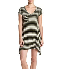 no comment™ Stripe Pocket Swing Dress