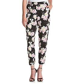 Kensie® Botanical Floral Print Soft Skinny Pants