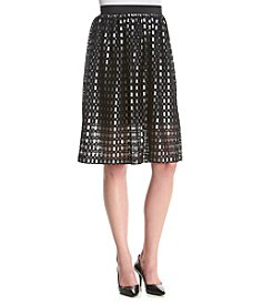 Kensie® Ladder Lace Skirt