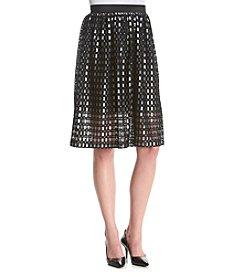 Kensie® Ladder Lace Skirt