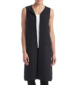 Kensie® Long Stretch Twill Vest
