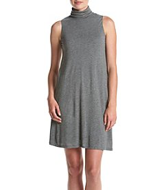 Kensie Juniors' Mockneck A-Line Dress