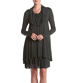 Kensie® Cowl Neck Layer Dress