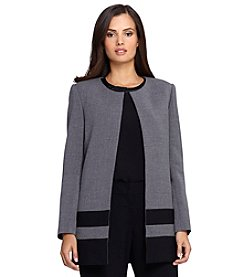 Tahari ASL® Combo Bottom Topper Jacket