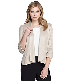 Tahari ASL® Cuff Sleeve Open Jacket