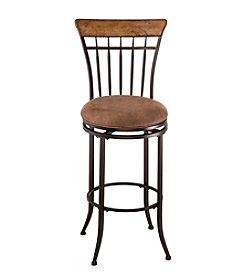 Hillsdale® Charleston Swivel Vertical Spindle Counter Stool