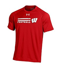 Under Armour® NCAA® Wisconsin Badgers Forward Field Short Sleeve Tee