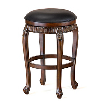 Hillsdale® Fleur de Lis Backless Swivel Stool
