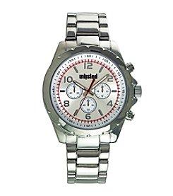 Unlisted by Kenneth Cole® Men's Silvertone Sport Watch
