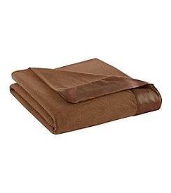 Shavel Home Products Micro Flannel® Solid All Seasons Sheet Blanket