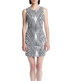 Trixxi® Abstract Pattern Sequin Bodycon Dress