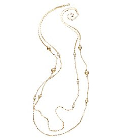 Vera Bradley® Goldtone Mod Elegance Layered Necklace