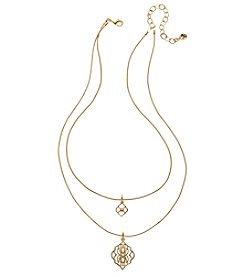 Vera Bradley® Goldtone Signature Short Necklace