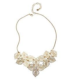 Vera Bradley® Goldtone Signature Bib Necklace