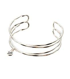 Vera Bradley® Silvertone Crossings Cuff Bracelet
