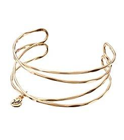 Vera Bradley® Goldtone Crossings Cuff Bracelet