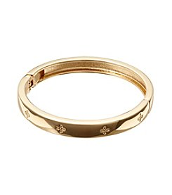 Vera Bradley® Goldtone Simple Skinny Bangle Bracelet