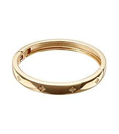 Vera Bradley® Goldtone Simple Skinny Bangle Bracelet