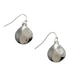 Vera Bradley® Silvertone Coin Drop Earrings
