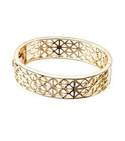 Vera Bradley® Goldtone Geo Bangle Bracelet