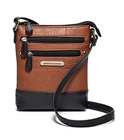 Stone Mountain® Crinkled Leather Mini Crossbody