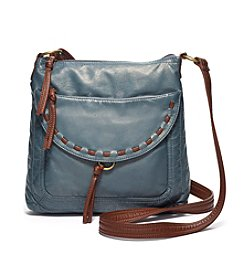 GAL Washed Two Toned With Lacing Medium Crossbody