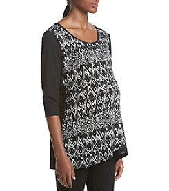 Three Seasons Maternity™ Print Crossover Top