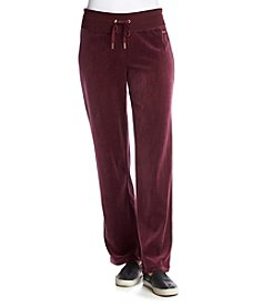 Calvin Klein Wide Leg Velour Pants