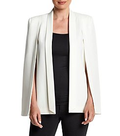 Tahari ASL® Cape Jacket