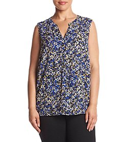 Nine West® Plus Size Speckle Print Cami