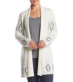 Ruff Hewn Plus Size Nordic Cardigan
