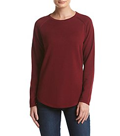 Jeanne Pierre® Jersey Crew Neck Sweater