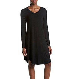 Cupio Solid Tee Shirt Dress