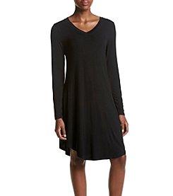 Cupio Solid Tee Shirt Dress
