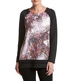 Cupio Space Print Raglan Top