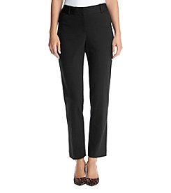 Laura Ashley® Solid Ponte Pants