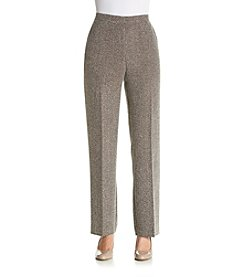 Alfred Dunner® Checkered Print Pants