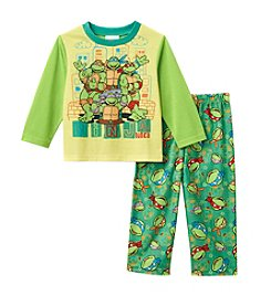 Teenage Mutant Ninja Turtles® Boys' 2T-4T 2-Piece Ninja Dudes Pajama Set
