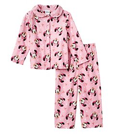 Disney® Girls' 2T-4T 2-Piece Big Smile Pajama Set