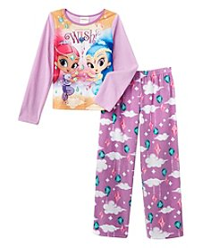 Nickelodeon® Girls' 4-10 2-Piece Wish Genies Pajama Set