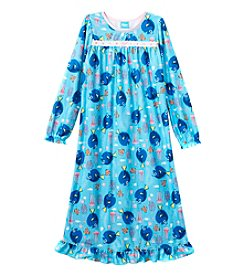 Disney Pixar® Girls' 4-10 Finding Dory™ Dory In A Sea Of Jellyfish Nightgown