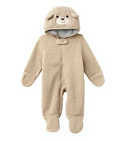 Weather Tamer® Baby Boys Teddybear Sherpa Pram