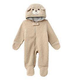 Weather Tamer® Baby Boys Teddybear Sherpa Pram