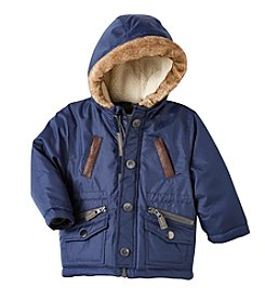 Carter's® Baby Boys Faux Fur Hooded Parka