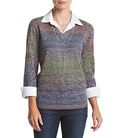 Studio Works® Layered Sweater