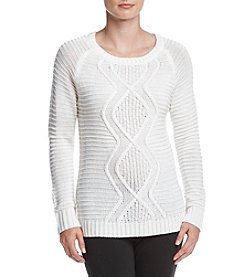 Studio Works ® Cable Front Sweater
