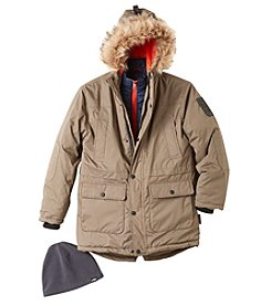 Hawke & Co. Boys' 8-20 Vestee Parka Coat