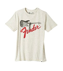 Lucky Brand® Boys' 4-20 Short Sleeve Fender® Rock On Tee